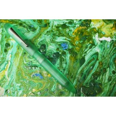 ASA Flora Green Translucent Acrylic Nauka Fountain Pen
